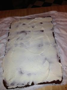 college grad cake