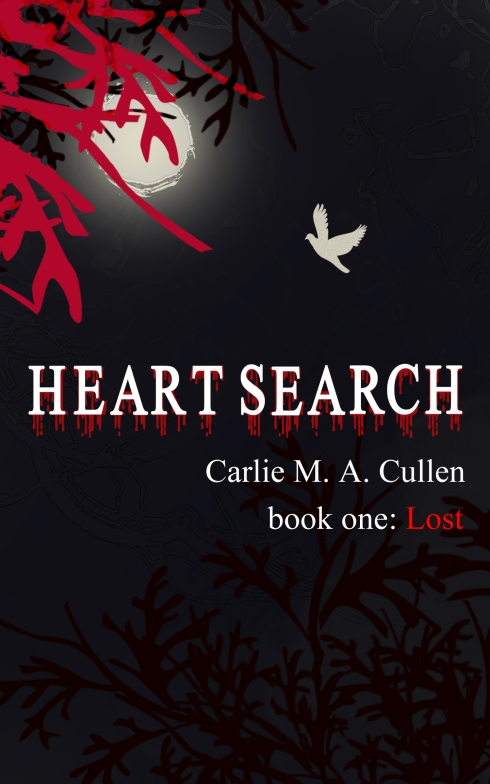Heart Search-Lost, Carlie M A Cullen, New novel, new fantasy novel