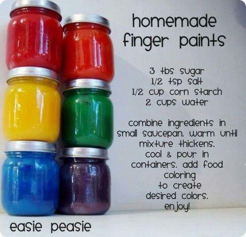 1-4-2014- finger paint homemade